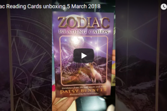 Zodiac Reading Cards Unboxing