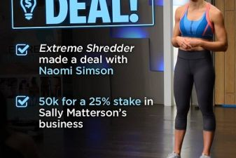 Sally Matterson gets Shark Tank Deal