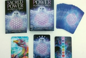 Oracle Deck Review: Sacred Power Reading Cards