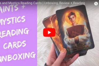 Saints & Mystics Reading Cards review by New Age Hipster