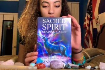 Sacred Spirit Reading Cards Bruja Review