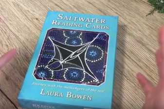 Katey Flowers revels in the Saltwater Reading Cards
