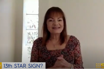 Patsy Bennett Explains the New Zodiac, on Today!