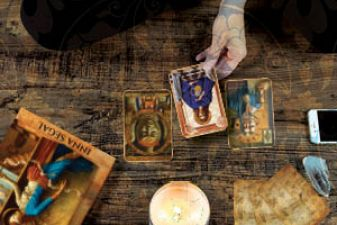 French Review of the Mystical Healing Reading cards!