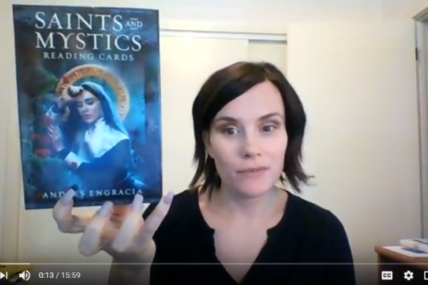Saints and Mystics Reading Cards Review