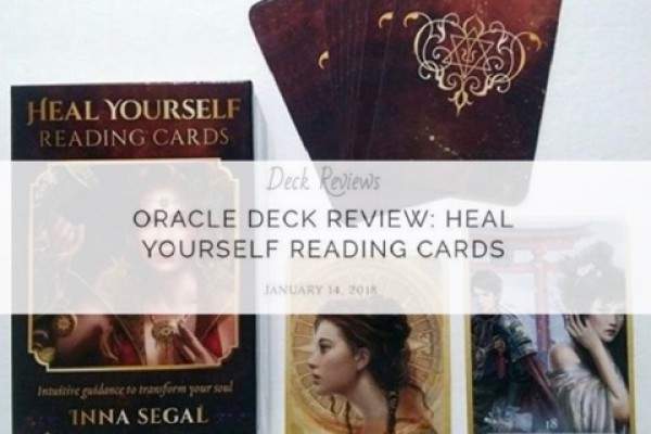 Heal Yourself Reading Cards review by The Bohemianess