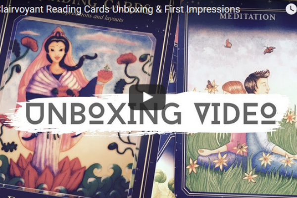 The Clairvoyant Reading Cards Unboxing