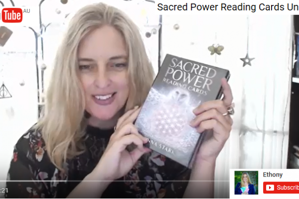 Sacred Power Reading Cards Unboxing